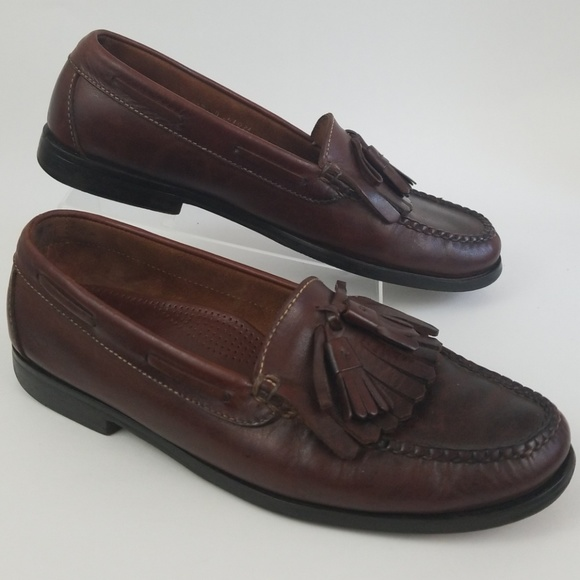 fe3a0e593f6 Cole Haan Other - Cole Haan Tassel Kilt Leather Loafers
